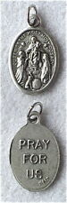 OUR LADY QUEEN THE MOST HOLY ROSARY Catholic Medal NEW