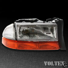 2003-2004 Dodge Dakota Headlight Lamp Clear lens Halogen Passenger Right Side