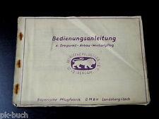 Betriebsanleitung Bayrische Pflugfabrik Dreipunkt Anbau-Wechselpflug