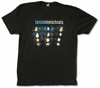 "NINE INCH NAILS ""TENSION TOUR 2013"" BLACK T-SHIRT NEW OFFICIAL ADULT NIN"
