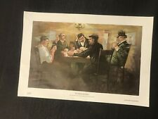 The Draw On The Bowery Jay Hambidge Us Playing Cards Poker Series Print #2
