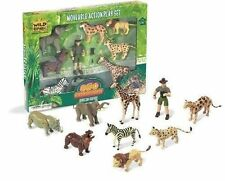 Wild Republic Eco Expedition Moveable Action Playset - African Safari