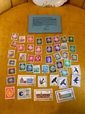 """ High Value Collection "" Russia German Colombian Hitler 44 stamp Lot Auction"