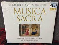 Musica Sacra 4 CD Stabat Mater Canti Gregoriani Golden Classic Nuovo Sigillato N