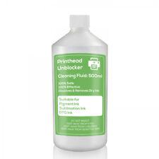 DTG Cabezal de impresión. líquido de limpieza Limpiador 500 Ml Boquillas De Impresora Epson Desbloquea