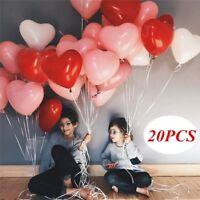 20 stücke Liebe Herz Latex Helium Ballons Hochzeit Dekoration Valentinstag Party
