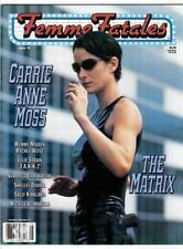 "Femme Fatales Vol 7 #17 (6/99)-Vf+ / Carrie Anne Moss/""The Matrix"", J.Strain^"