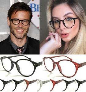 Reading Glasses Round Black Men Women Lightweight Readers +1 1.5 2 2.5 3 3.5 4
