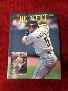BECKETT BASEBALL CARD MONTHLY SEPTEMBER 1994 JEFF BAGWELL