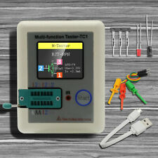 Lcr Tc1 Multifunction Transistor Tester Tft Diode Triode Capacitance Meter Esr