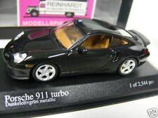 1/43 Minichamps Porsche 911 turbo 1999 grünmetallic 430 069310