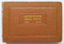 RAYMOND NATIONAL COIN ALBUM FOR LINCOLN CENTS - RARE EARLY PRINTING