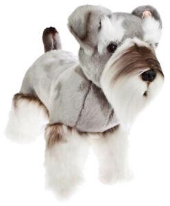 Schnauzer Plush Stuffed Soft Toy Dog 35cm Sherlock by Bocchetta
