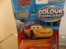 Disney pixar cars 2 colour /color changers  Lightning  McQueen Red / Yellow