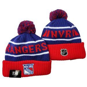 NY New York Rangers New Era Beanie NHL Hat Cap Knit Adult Size
