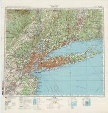 Russian Soviet Military Topographic Maps - NEW YORK (USA),1:500 000, REPRINT