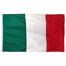 Italy Italian 4x6 4'x6' Foot Flag Banner (150 Denier) Super Poly Indoor/Outdoor