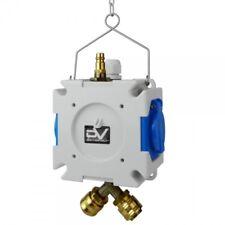 Stromverteiler mDV 2x230V/16A für Druckluft ∅8mm mit 1,5m Verzinktkette 2749