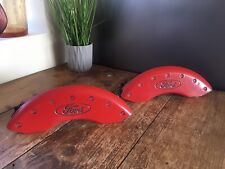 MGP RED FORD BRAKE DISC CALIPER COVER PART NUMBER 10041 F EXPLORER SPORT TRAC