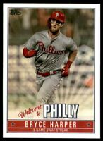 2019 Topps Update Bryce Harper Welcome to Philly #BH14 Bryce Harper