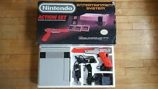 Nintendo Entertainment System Action Set Box Styrofoam All Cables No Game