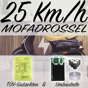 🛵 Mofadrossel PEUGEOT Speedfight 2 BA GA Mofa Drossel 25km/h +TÜV Gutachten❗️
