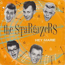 7inch THE STARGAZERS hey marie HOLLAND 1982 EX/EX- ROCKABILLY (S3406)