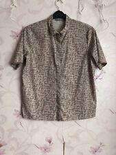 Cos Women Shirt Top Cotton Loose Fit Size 38