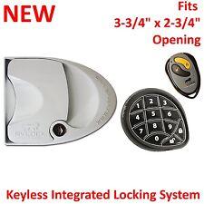 NEW RV Handle Lock Door Entry Keyless Pad Remote Fob Camper Trailer 296656 WHITE