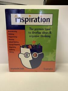 INSPIRATION 7.6 Premier Brain Storming Tool to Develop Ideas Organise Thinking