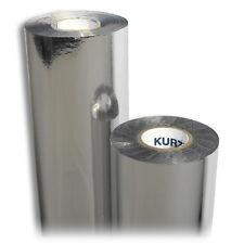 Rolle Prägefolie Heißprägefolie Silber Metallic B: 80mm L:120m HOT Foil Printing