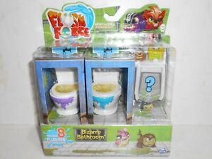 Spin Master Series 1 FLUSH FORCE 8 Pack Bizarre Bathroom !!!Box on Choice!!! NiB