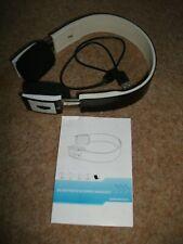 Bluetooth Stereo Headset, Black & White