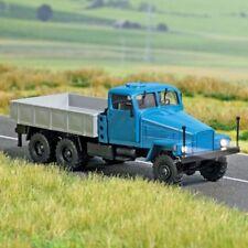 Busch 5667 - 1/87 IFA G5 Pritsche-LKW mit Beleuchtung - Blau - Neu