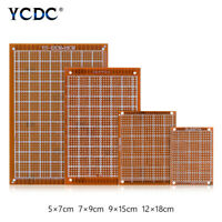 5/10pcs single side pcb prototype circuit board breadboard for diy arduino 1mm