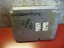 1999 MAZDA PROTEGE MILLENIA ENGINE COMPUTER XU3F-12A650-BE ECU PCM #B109 #B108
