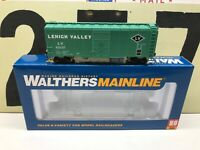 Walthers HO Scale LV Lehigh Valley 40' AAR Modified Boxcar RD #65117 RTR New
