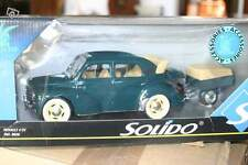 Renault 4cv + Remorque 1/18 Solido Neuf en Boite modèle RARE