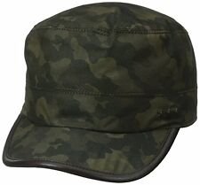 New John Varvatos Star Usa Castro Hat in Green Size S/M