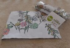 NWT Food Network Printed Placemats Garden Gate Original Price 29.99