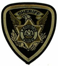 LAFOURCHE PARISH SHERIFF LOUISIANA SWAT SUBDUED NEW PATCH POLICE