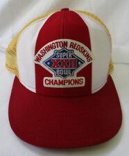 f411ddeb6ca WASHINGTON REDSKINS SUPER BOWL XXII CHAMPIONS SNAPBACK MESH TRUCKER CAP HAT