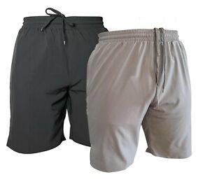 Men's Hockey Sports Shorts Fitness Training Gym Running 2 Pockets Quick Dry Fit