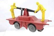 Very Rare Marx Handcar Red With Yellow Men O Scale