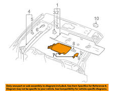 Chevrolet GM OEM 03-06 SSR Interior-Roof-Sunshade Left 15781179