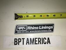 "New Rhino Linings Vehicle Emblem 6"" Plastic truck jeep suv liner rhinoliner ATV"