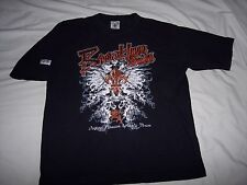 Brooklyn Express ~ Black Graphic T-Shirt  Embroidered Lettering ~ Adult M