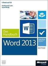 Microsoft Word 2013 - Das Handbuch von Klaus Fahnenstich und Rainer G. Haselier