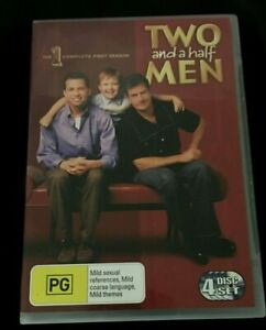 Two And A Half Men : Season 1 (DVD 2006 4 Disc Set) Very Good Condition Region 4