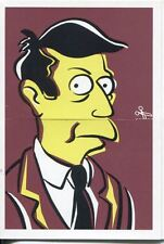 Simpsons Mania Dr. Marvin Monroes Split Personality Chase Card F5